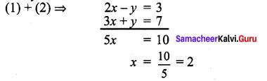 Samacheer Kalvi 9th Maths Chapter 3 Algebra Ex 3.12 1
