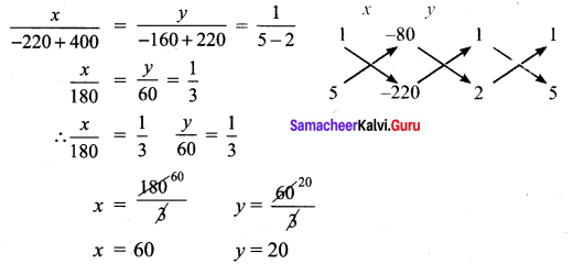 Samacheer Kalvi 9th Maths Chapter 3 Algebra Ex 3.13 3