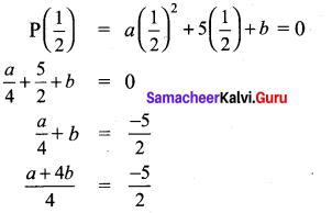 9th Maths 3.3 Samacheer Kalvi Solutions Chapter 3 Algebra
