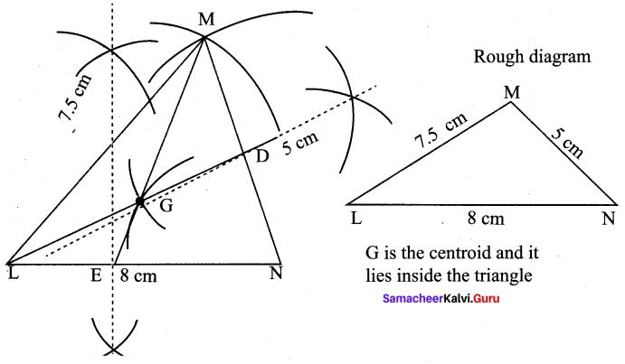 9th Maths Geometry Exercise 4.5 Samacheer Kalvi Chapter 4