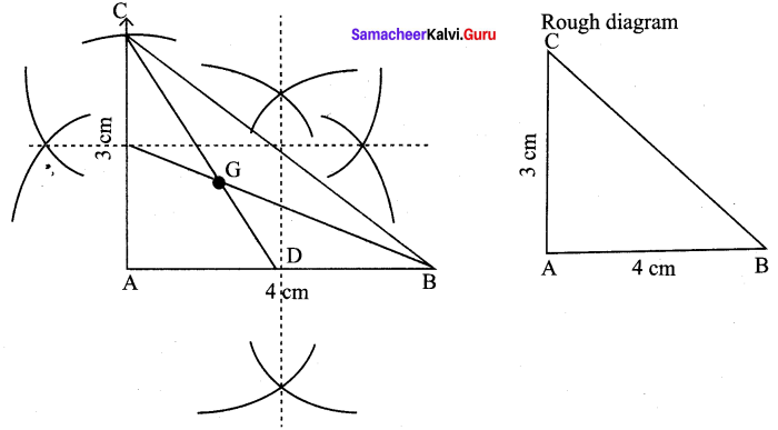 9th Maths Geometry Samacheer Kalvi Chapter 4 Ex 4.5