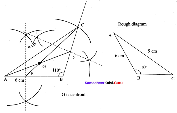 9th Maths Exercise 4.5 Samacheer Kalvi Chapter 4 Geometry