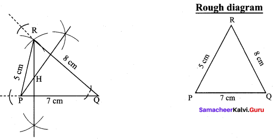9th Standard Maths Exercise 4.5 Samacheer Kalvi Chapter 4 Geometry