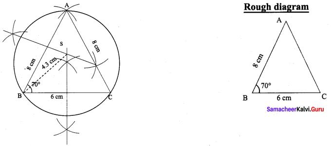 9th Maths Geometry Exercise 4.6 Chapter 4 Samacheer Kalvi