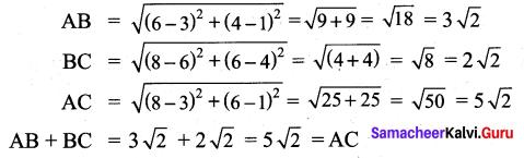 Samacheer Kalvi 9th Maths Chapter 5 Coordinate Geometry Additional Questions 66