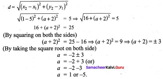 Samacheer Kalvi 9th Maths Chapter 5 Coordinate Geometry Additional Questions 68