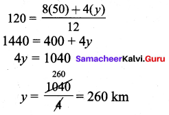 Samacheer Kalvi 9th Maths Chapter 5 Coordinate Geometry Additional Questions 92