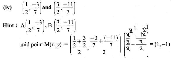 9th Maths Exercise 5.3 Solutions Chapter 5 Coordinate Geometry Samacheer Kalvi