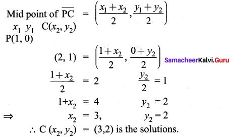 Samacheer Kalvi 9th Maths Chapter 5 Coordinate Geometry Ex 5.4 11