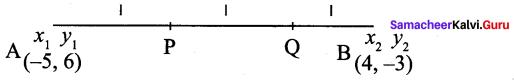 Samacheer Kalvi 9th Maths Chapter 5 Coordinate Geometry Ex 5.4 4