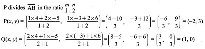 Samacheer Kalvi 9th Maths Chapter 5 Coordinate Geometry Ex 5.4 5
