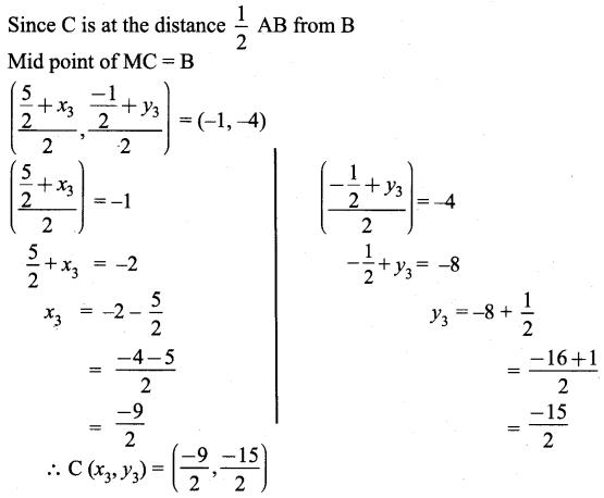 Samacheer Kalvi 9th Maths Chapter 5 Coordinate Geometry Ex 5.4 7