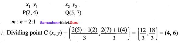 Samacheer Kalvi 9th Maths Chapter 5 Coordinate Geometry Ex 5.6 51