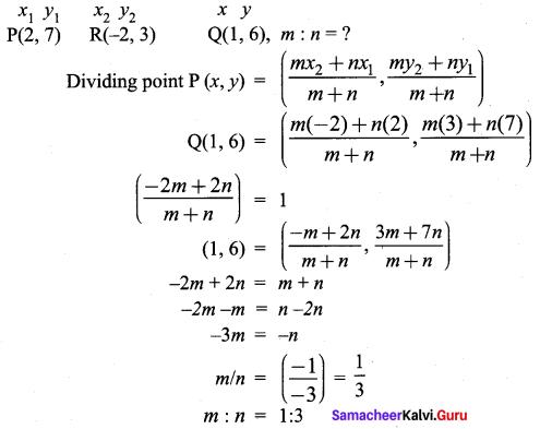 Samacheer Kalvi 9th Maths Chapter 5 Coordinate Geometry Ex 5.6 54