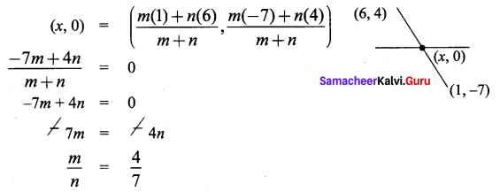 Samacheer Kalvi 9th Maths Chapter 5 Coordinate Geometry Ex 5.6 59
