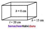 9th Maths Exercise 7.2 Samacheer Kalvi Chapter 7 Mensuration