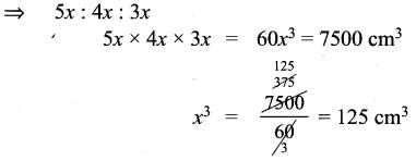 Samacheer Kalvi 9th Maths Chapter 7 Mensuration Ex 7.3 1