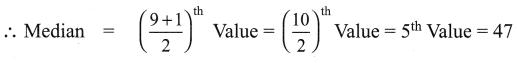 Samacheer Kalvi 9th Maths Chapter 8 Statistics Ex 8.2 1