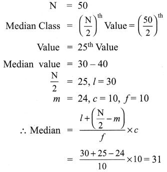 Samacheer Kalvi 9th Maths Chapter 8 Statistics Ex 8.2 8