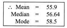Samacheer Kalvi 9th Maths Chapter 8 Statistics Ex 8.3 12