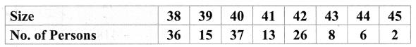 Samacheer Kalvi 9th Maths Chapter 8 Statistics Ex 8.3 3