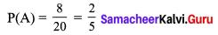Samacheer Kalvi 9th Maths Chapter 9 Probability Additional Questions 2
