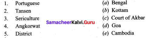State And Society In Medieval India Class 9 Samacheer Kalvi Social Science History Solutions Chapter 7