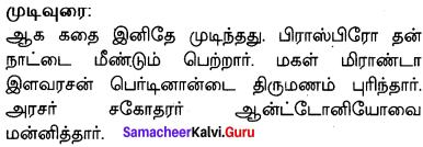 10th English Supplementary Paragraph Pdf Samacheer Kalvi Chapter 1 The Tempest