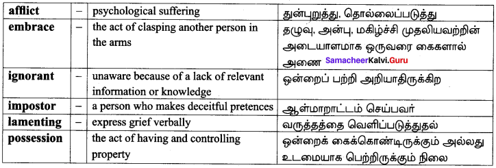 10th English The Tempest Summary Samacheer Kalvi Chapter 1