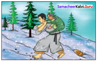The Aged Mother Paragraph Samacheer Kalvi 10th English Solutions Supplementary Chapter 4