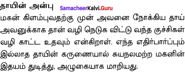 The Aged Mother Answers Samacheer Kalvi 10th English Solutions Supplementary Chapter 4