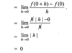 Samacheer Kalvi 11th Maths Solutions Chapter 10 Differentiability and Methods of Differentiation Ex 10.1 11