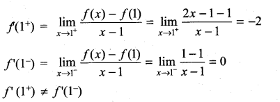 Samacheer Kalvi 11th Maths Solutions Chapter 10 Differentiability and Methods of Differentiation Ex 10.1 14