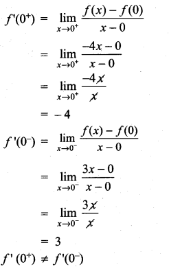 Samacheer Kalvi 11th Maths Solutions Chapter 10 Differentiability and Methods of Differentiation Ex 10.1 20