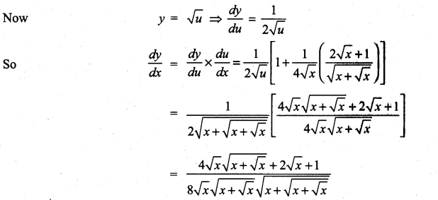 Samacheer Kalvi 11th Maths Solutions Chapter 10 Differentiability and Methods of Differentiation Ex 10.3 29