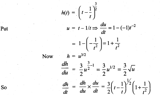 Samacheer Kalvi 11th Maths Solutions Chapter 10 Differentiability and Methods of Differentiation Ex 10.3 6