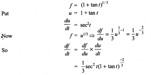 Samacheer Kalvi 11th Maths Solutions Chapter 10 Differentiability and Methods of Differentiation Ex 10.3 7