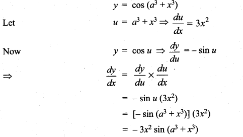 Samacheer Kalvi 11th Maths Solutions Chapter 10 Differentiability and Methods of Differentiation Ex 10.3 8