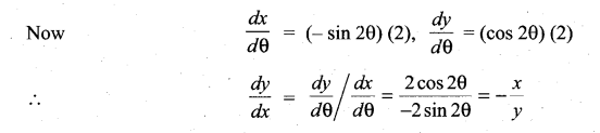 Samacheer Kalvi 11th Maths Solutions Chapter 10 Differentiability and Methods of Differentiation Ex 10.5 10