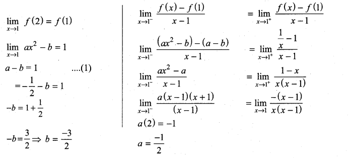 Samacheer Kalvi 11th Maths Solutions Chapter 10 Differentiability and Methods of Differentiation Ex 10.5 31