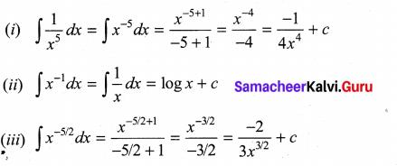 Samacheer Kalvi 11th Maths Solutions Chapter 11 Integral Calculus Ex 11.1 6