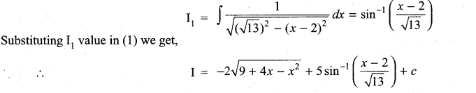 Samacheer Kalvi 11th Maths Solutions Chapter 11 Integral Calculus Ex 11.11 11