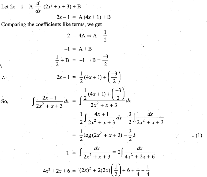 Samacheer Kalvi 11th Maths Solutions Chapter 11 Integral Calculus Ex 11.11 15