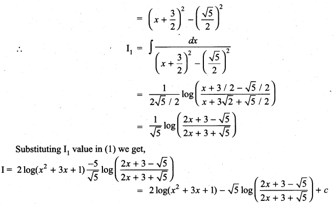 Samacheer Kalvi 11th Maths Solutions Chapter 11 Integral Calculus Ex 11.11 19