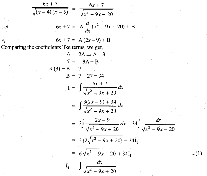 Samacheer Kalvi 11th Maths Solutions Chapter 11 Integral Calculus Ex 11.11 22