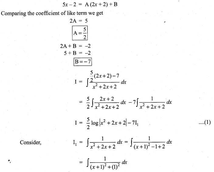Samacheer Kalvi 11th Maths Solutions Chapter 11 Integral Calculus Ex 11.11 4