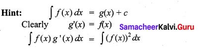 Samacheer Kalvi 11th Maths Solutions Chapter 11 Integral Calculus Ex 11.13 2