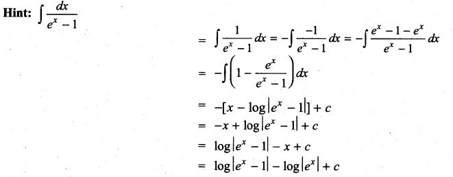Samacheer Kalvi 11th Maths Solutions Chapter 11 Integral Calculus Ex 11.13 29