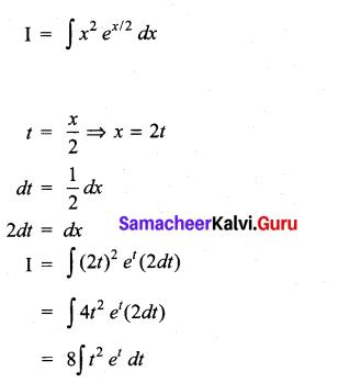 Samacheer Kalvi 11th Maths Solutions Chapter 11 Integral Calculus Ex 11.13 37