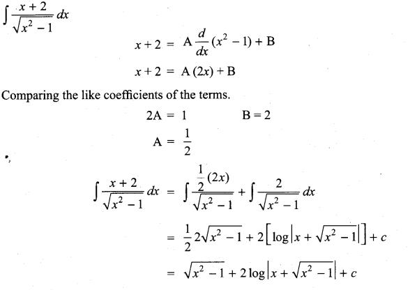 Samacheer Kalvi 11th Maths Solutions Chapter 11 Integral Calculus Ex 11.13 40